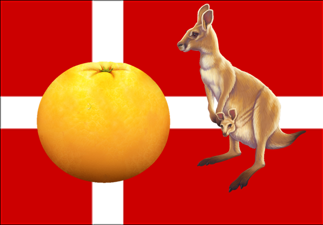 Denmark Kangaroo Orange Trick & Mathematical vs Real Life Probability